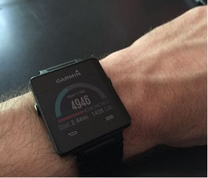 Use an activity tracker to motivate regular movement throughout the work day