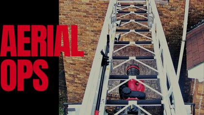 Aerial operations: Best practices for top-of-the-ladder-pipe firefighters
