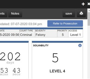 With Agisent's PlatformRMS, send all completed police files to prosecutors in justone click.