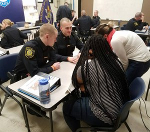 Today's youth, particularly those living in urban areas, encounter officers on the street, inschool, and at recreational and social events.