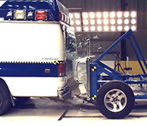 With these new crash test methods, patient compartments in an ambulance can become increasingly crashworthy for both the patient and the provider. (Photo/National Institute for Occupational Safety and Health)