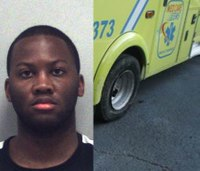 EMT assaults partner, takes ambulance on wild ride