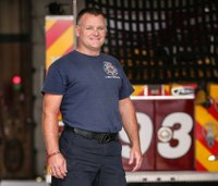 Quiet Warrior: Never give up: First above-the-knee amputee firefighter recalls road to recovery, return to department