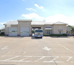"""A newborn baby was dropped off at Fire Station 38, a """"safe baby site."""" (Photo/Fort Worth Fire Station 8, Google)"""