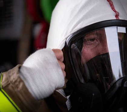 The next generation of particulate-blocking firefighting hood is here