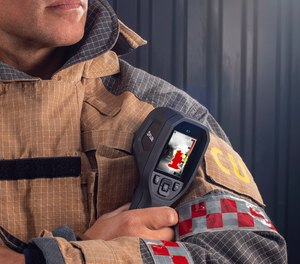 Thermal imaging cameras from FLIR can enhance firefighter safety and situational awareness.