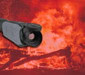 Putting a thermal imaging device to the test in the California wildfires