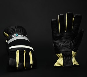 The Pro-Tech 8 Vision glove offers greater dexterity and a glow strip for added safety.