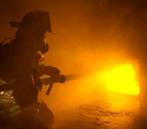 Digital simulation technology gives firefighters realistic scenarios without exposing them to added danger from toxins. (image/LION)