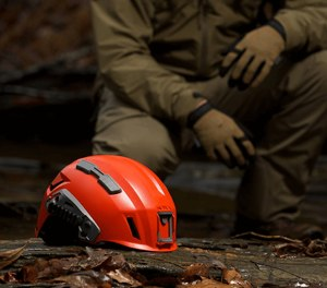 This SAR tactical helmet is purpose-built to provide better brain protection for outdoor search and rescue teams.