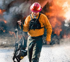 Wildland firefighting demands different gear than structural firefighting. (image/True North Gear)