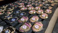 Color for a cause: Raise awareness and show support with a custom-finished department badge
