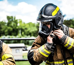 The MSA Cairns XF1 fire helmet is designed for today's firefighters