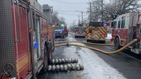 There are no 'snow days' in the fire service