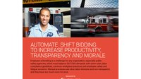 Automate shift bidding to increase productivity, transparency and morale (white paper)