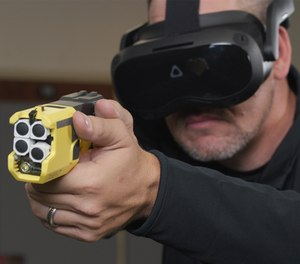 Axon's peer intervention training uses virtual reality to help prepare officers to have those difficult conversations.