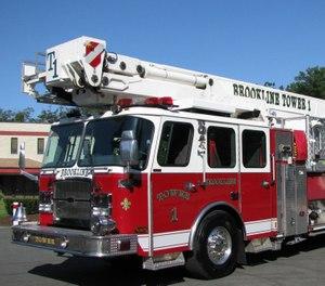 (Photo/ Brookline Fire Department)