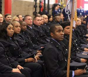 Organizational leadership needs to work closely with human resources in the recruitment and onboarding effort of new members. (Photos/Baltimore City FD Chief Niles Ford)