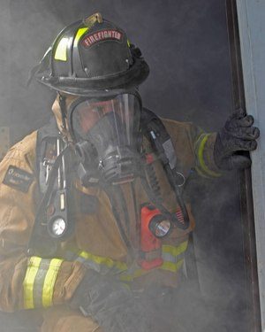 Firefighters know that they will be exposed to toxins and carcinogens from combustion, but often remove their SCBA nonetheless.