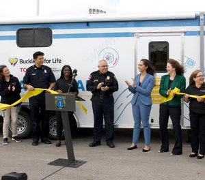 Austin-Travis County EMS, Cincinnati Children's Hospital Medical Center (CCHMC) and Toyota held a kick-off event and ribbon cutting for the Buckle Up for Life Safety Lab program on Nov. 20. The program was funded with a grant awarded by CCHMC and Toyota to the Austin-Travis County EMS.