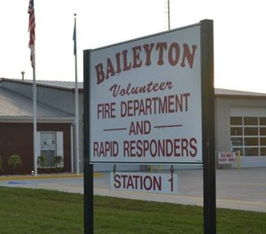 The Baileyton Volunteer Fire Department received funding for P25 compliant mobile radios.