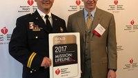 Department receives American Heart Association's highest EMS award