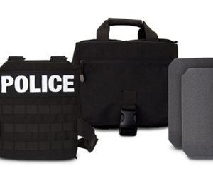 The kits include a vest, two body armor plates, and a carry bag.