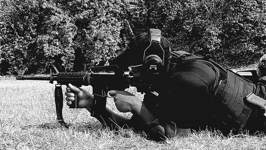 Berkeley PD uses a variety of shooting positions during AR-15 training to prepare officers to respond in any situation.