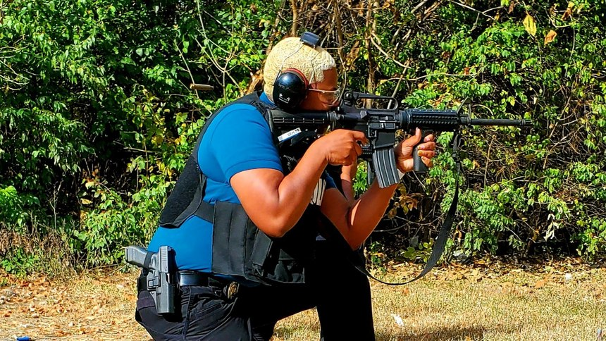 Firearms training goes hand in hand with use of force training, and as a tool of last resort, BPD officers maintain proficiency at the highest levels.