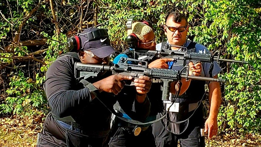 Providing platoon training builds camaraderie and boosts morale, and also satisfies the department's annual CALEA training requirements.
