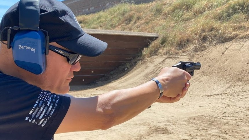 I spent long sessions at the range with the S&W Model 43C.It was easy to operate, and fun to shoot. The 942 trigger was slightly smoother, but everyone liked the lightweight feel of the Model 43C.