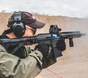 3 things at SHOT Show range day that made me stop in my tracks