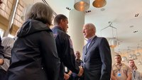 Photo of the Week: President Biden meets with condo collapse rescue teams