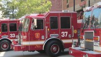 Nine-alarm Boston fire sends 9 to hospital including 7 firefighters