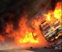 Boston EMS vehicle explosion injures 2 FFs