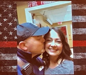 Melanie Clark reflects on the events following the death of her husband, Lt. Brad Clark.