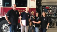 Texas FD mourns firefighter who lost battle with cancer