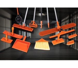 To better address the need in correctional facilities for cleaning tools that are safe but durable, Briarwood Products developed its own special safety polymer that is flexible but cannot be sharpened into a weapon. (image/Briarwood Products)