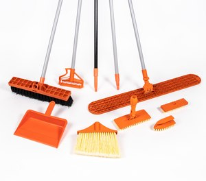 Briarwood Products offers a suite of cleaning tools designed specifically with the safety of COs and inmates in mind. These specialized tools are made from fiberglass or a special rubbery plastic that can't be sharpened, unlike wood or hard plastics, so inmates can't fashion the items into sharp or pointed weapons.