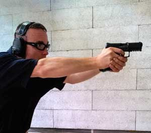 As expected, the new VP40 was accurate and reliable, as we have come to expect from all HK firearms. (PoliceOne Image)