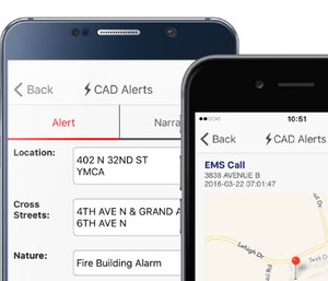Getting dispatch notices through your phone makes practical sense, plus it's one less thing that firefighters and EMS staff have to worry about. (image/eDispatches)
