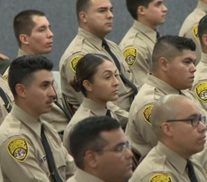 A new recruit's first day is as critical for a field trainer as it is for the rookie. (Photo/CDCR)