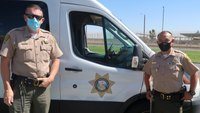 CDCR transportation officers help save mom, baby after car crash