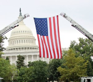 The National Fire and Emergency Services Symposium and Dinner was originally scheduled for April 29-30 in Washington, D.C.