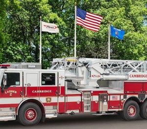 The Cambridge Fire Department in Massachusetts has taken delivery of a Pierce Ascendant100' Heavy-Duty Aerial Tower with Idle Reduction Technology.