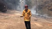 CAL FIRE crew digs in, saves century-old campground from Caldor Fire