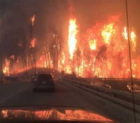 Firefighters battle massive wildfire in Canada, residents evacuated