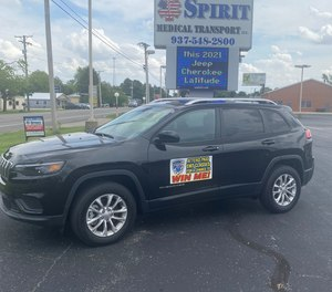 To encourage EMS applicants, Spirit Medical Transport is offering an additionalincentive, secondary to a new career path in emergency medicine: a 2021 Jeep Cherokee Latitude.