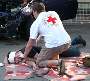 The key toward successfully treating shock is a rapid response, before reaching the decompensated shock phase (Photo/Wikimedia Commons)