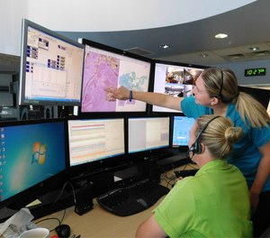 Castle Rock Police Department shares CAD data with other agencies through the county's public safety answering point.